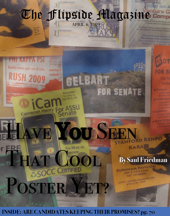 The Flipside Magazine: Have You Seen That Cool Poster Yet?
